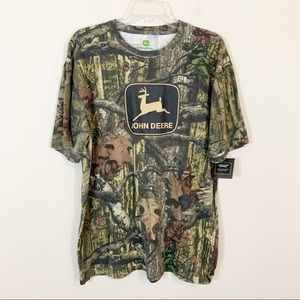 Men's John Deere • Camo Logo Short Sleeve Tee XL